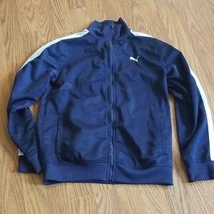 Puma zip up jacket size medium